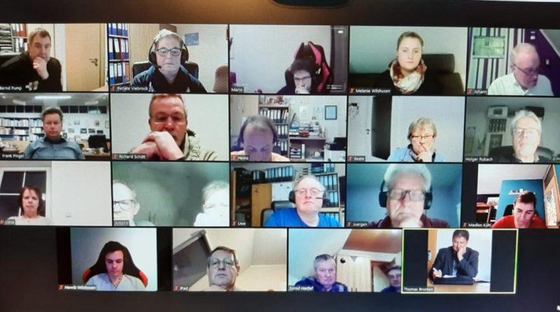 Die erste Gesamtpräsidiumssitzung 2021 fand am 19.01.2021 als Videokonferenz statt.
